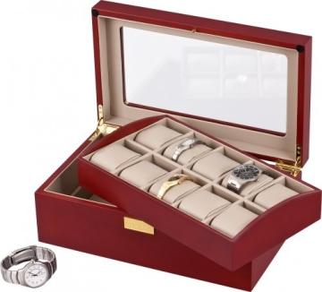 Auer Accessories Leda VS80110CM Uhrenbox Herausnehmbares Tablett - 3