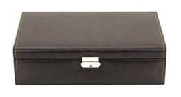 Friedrich|23 Unisex Uhrenkasten für 10 Uhren Kunststoff  Braun 20068-3 - 1
