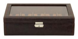 Uhrenbox mit Glasdeckel