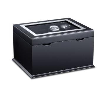 Hermann Jäckle Starnberg Uhrenbox für 16 Uhren J16B-SE schwarz - 1