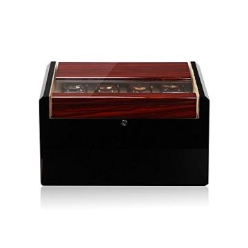 Modalo Imperia Uhrenboxen für 16 Uhren in makassar beige 701662 - 1