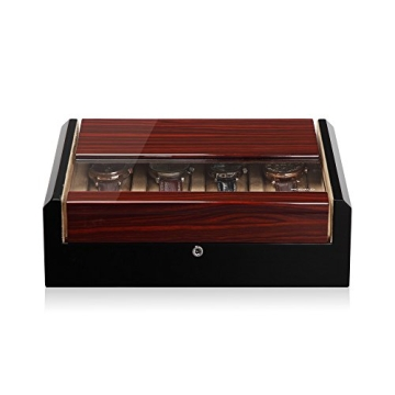 Modalo Imperia Uhrenboxen für 8 Uhren in makassar beige 700862 - 1