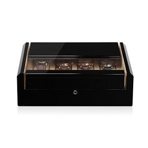 Modalo Imperia Uhrenboxen für 8 Uhren in schwarz beige 700812 - 1