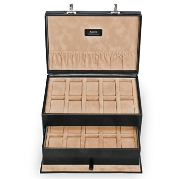 Sacher Uhrenbox für 20 Uhren, echt Leder, 3020.010443 - 2