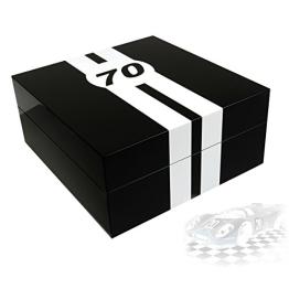Uhrenbox LeMans 70 für 4 Uhren piano-black - 1