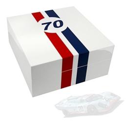 Uhrenbox LeMans 70 für 4 Uhren piano-white - 1
