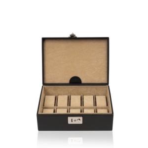 Windrose Beluga Uhrenkassette für 10 Uhren 8 schwarz - 1