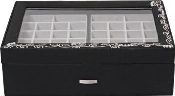 Windrose Charming Schmuckkoffer Charmbox mit Sichtfenster 7 flora - 2