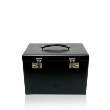 Windrose Merino Schmuck- / Uhrenkoffer 8 schwarz - 1