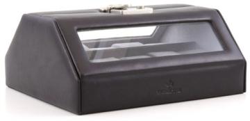 Windrose Nappa Uhrenkoffer für 10 Uhren 8 schwarz - 3