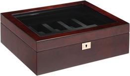 Wolf Uhrenbox Savoy 10 Wurzelholz - 1