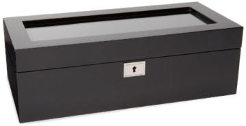 Wolf Uhrenbox Savoy 5 Schwarz - 2